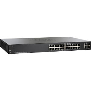 SF200-24 24-Port 10/100 Smart Switch