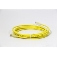 ProLink UNSHIELDED CAT6A S/FTP PATCH CORD W/ T568B WIRING, 3M, LSZH   Yellow