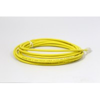 ProLink UNSHIELDED CAT6A PATCH CORD W/ T568B WIRING, 5M, LSZH  Yellow