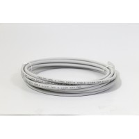 ProLink UNSHIELDED CAT6A S/FTP PATCH CORD W/ T568B WIRING, 5M, LSZH  Gray