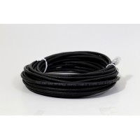 ProLink UNSHIELDED CAT6A S/FTP PATCH CORD W/ T568B WIRING, 10M, LSZH  Black