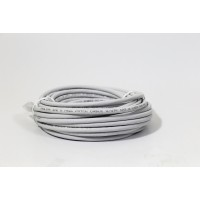ProLink UNSHIELDED CAT6A S/FTP PATCH CORD W/ T568B WIRING, 10M, LSZH  Gray