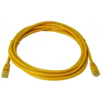ProLink UNSHIELDED CAT6A PATCH CORD W/ T568B WIRING, 1M, LSZH yellow