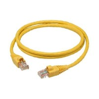 ProLink UNSHIELDED CAT6A S/FTP PATCH CORD W/ T568B WIRING, 1M, LSZH Yellow