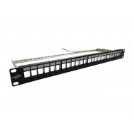 ProLink PATCH PANEL  24-PORT, JACK TYPE With Out Jack