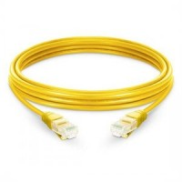 ProLink CAT6 U/UTP Patch Cord W/ T568B Wiring, 5M, LSZH Yellow