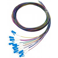 ProLink Package 12 Core Pigtail LC SM  PVC