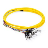 ProLink Package 12 Core Pigtail ST SM  PVC