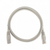 ProLink CAT6 U/UTP Patch Cord W/ T568B Wiring, 1M, LSZH Grey